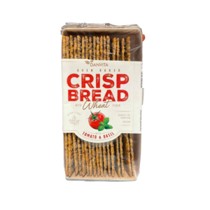 CRISP BREAD Tomaat basilicum 130 gr