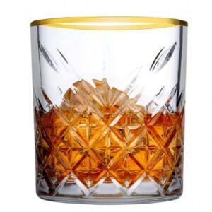 Timeless whisky Glas Gold 355ml