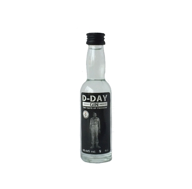 D-Day Gin Rubbens 4 cl