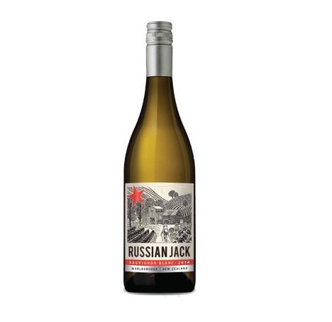 Russian Jack Sauvignon blanc Nieuw Zeeland