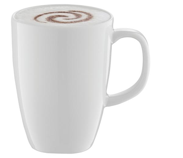 Sjabloon cappuccino kunst AeroLatte