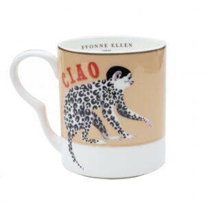 Yvonne Ellen Small Mug Monkey 250ml
