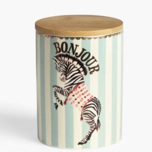 Yvonne Ellen Storage Jar Zebra,