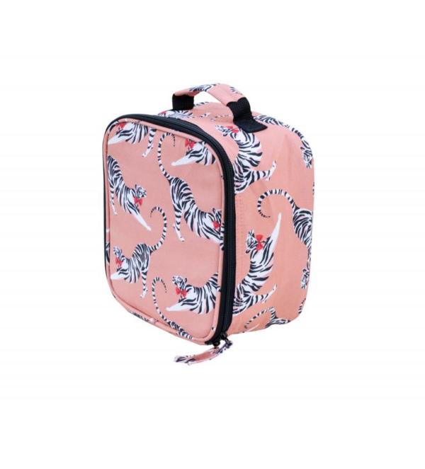 Yvonne Ellen Lunch Bag Tiger, 22x22x12cm