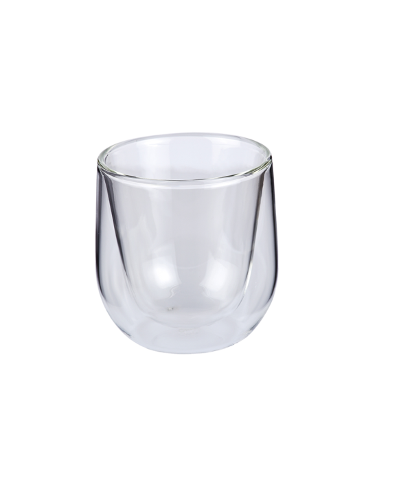 Dubbelwandig GLAS 150 ml CILIO 2 ST