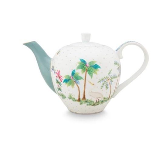 Tea Pot Small Jolie Dots Gold 750ml