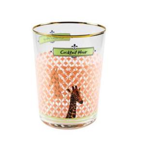 Yvonne Ellen Hi Ball Cocktail Glass 550ml, giraffe