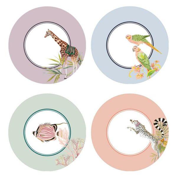 Picnic grote borden Yvonne Ellen 4 designs