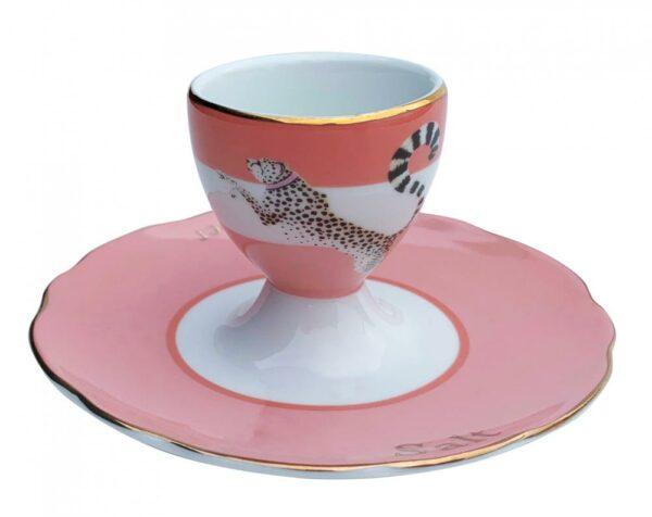 Yvonne Ellen Egg Cup Cheetah