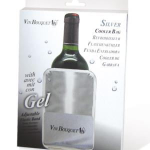 Wijnkoelerzak Zilver grijs