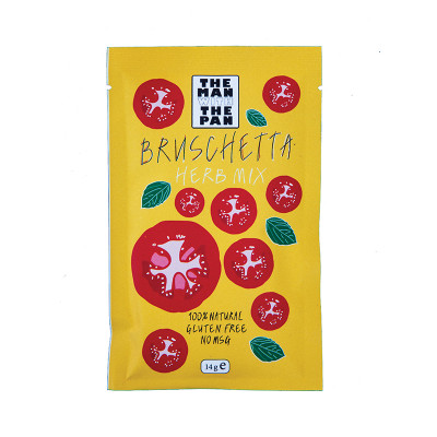 Bruchetta Herb Mix 'The man with the Pan' 30 gr