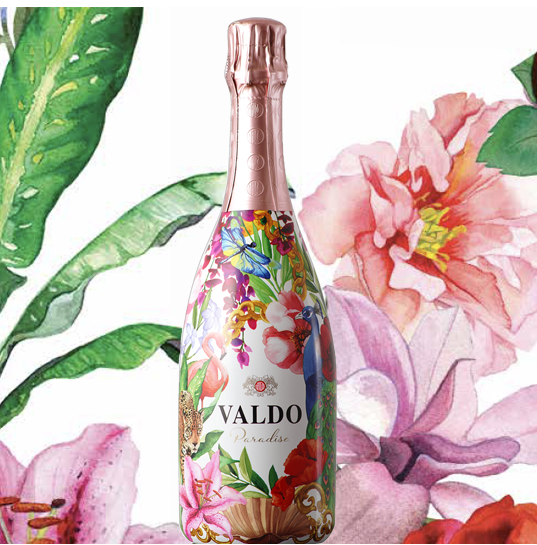 VALDO PARADISE 70 cl Spumanté Rosé