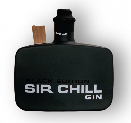 Sir Chill Gin Black Edition 43° 50 cl
