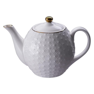 Nippon White Teapot 1.25L, Star /12
