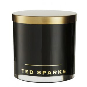 Outdoor Candle Black TED SPARKS