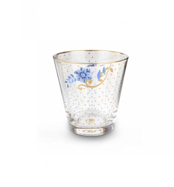 Water Glass Royal Golden Dots 270ml