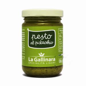 Pesto al pistcchio 'La Gallinara' 130gr