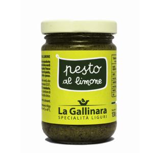 Pesto al limone 'La Gallinara' 130gr