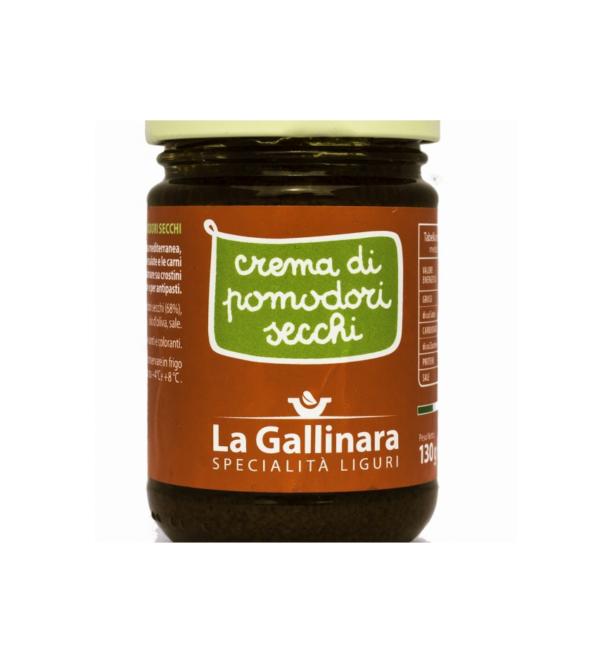 Crema di pomodori secchi 'La Gallinara' 130gr