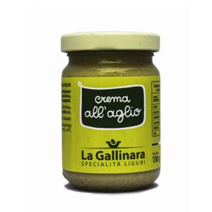 """CREMA ALL'AGLIO """"la gallinara"""" 130 GR"""