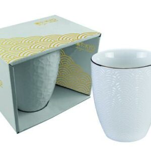 Nippon White Mug 380ml, Wave, giftbox