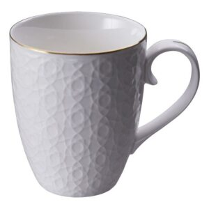 Nippon White Mug 8.5x10.2cm Stripe