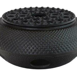 Stove Arare 14cm, low model, black Theewarmhouder
