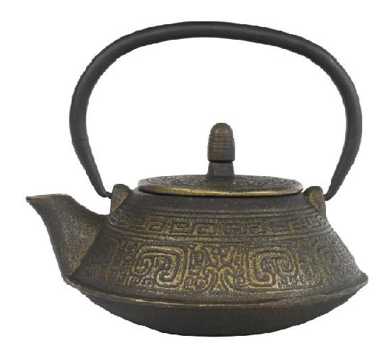 Maoming teapot 0,80 ltr, gold