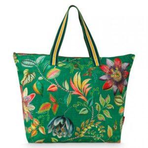Beach Bag Exotic Garden Green PIP