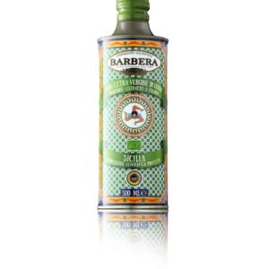 BARBERA Olijfolie in TIN 500 ml BIO