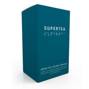 SUPERTEA Green Tea Coconut Organic 20 st