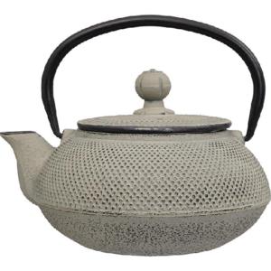 iron teapot grey/green 0.60l