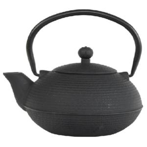 iron teapot ganzou black 090L