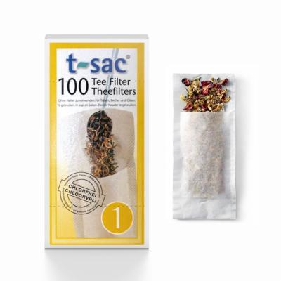 T-SAC 100 theefilterzakjes Maat 1