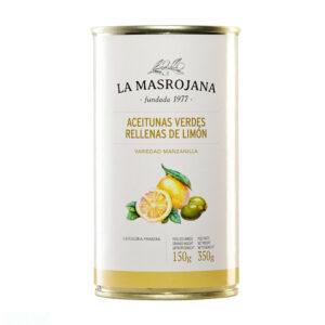 MANZANILLA olijven RELLENA CON LIMON 350 GRAM