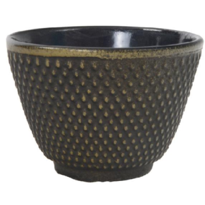 tea cup arare 12cl gold