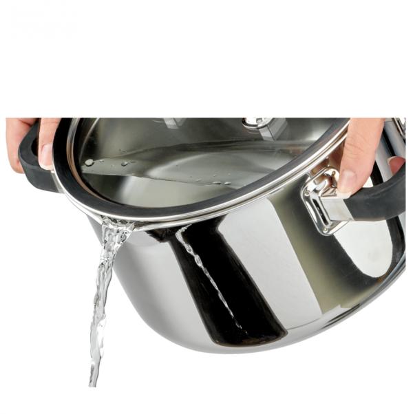 Hoge braadpan met deksel FUSION2+ 20CM 12 CM