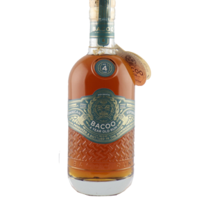 Bacoo 4Y Old Rum – 70cl 40°