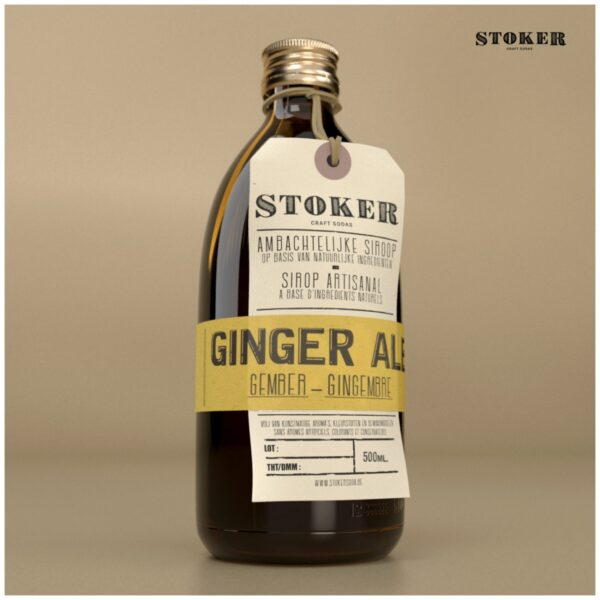 STOKER SODA Ginger Ale 200 ml