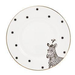 Yvonne Ellen Side plate 16cm, zebra