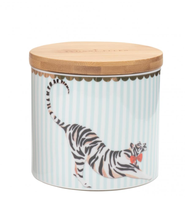 Yvonne Ellen Storage Jar Small Tiger 9.5x10cm, 400ml