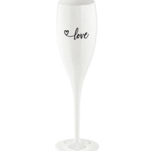 Koziol Champagneglas 'LOVE.01'