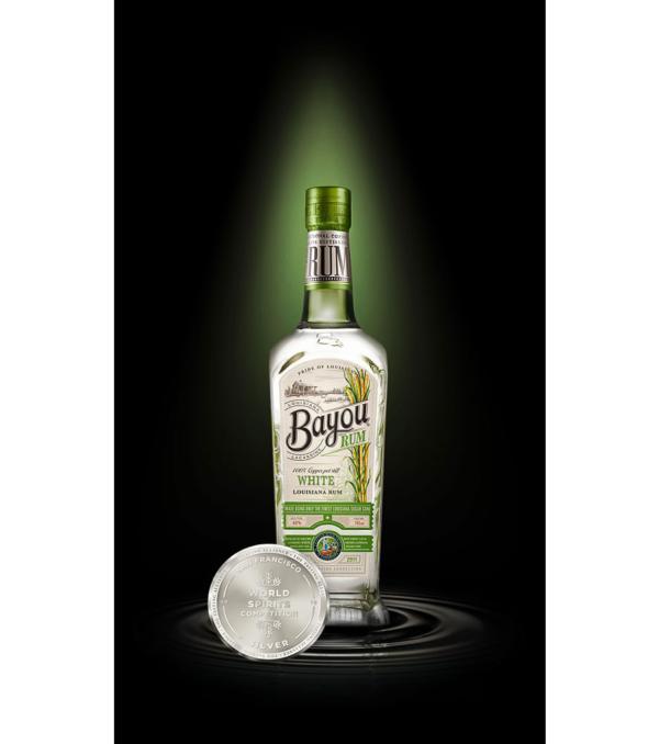 Bayou White RUM 70 cl