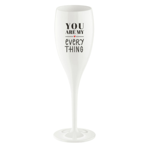 Koziol Champagneglas 'You are my everything'