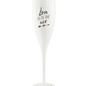 Koziol Champagneglas 'love is in the air '