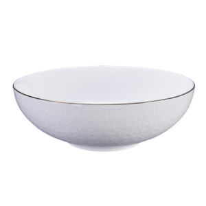 Nippon White Bowl 19x5.5cm Stripe