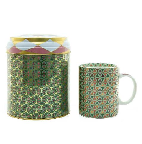 Tin box with mug 250ml, OPERA
