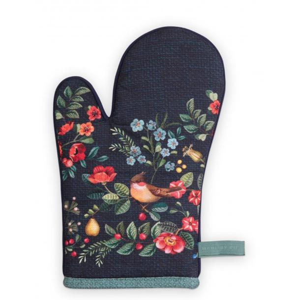 Oven Glove Winter Wonderland Overall Dark