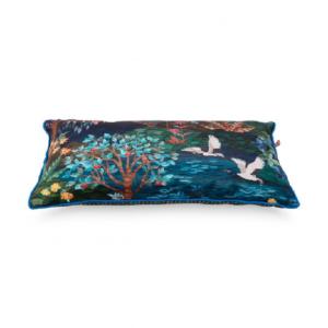 Cushion Pip Garden Blue 50x30cm