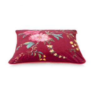 Cushion Fleur Grandeur Red 60x60cm